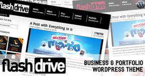 Flash Drive - вордпресс тема для бизнеса и портфолио