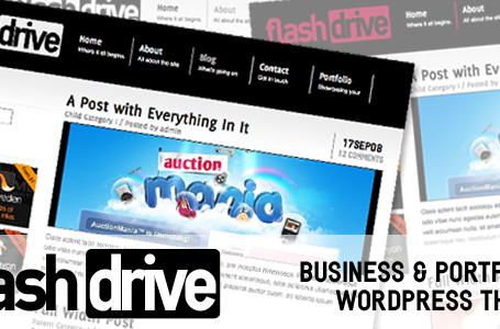 Flash Drive — Вордпресс тема для бизнеса и портфолио