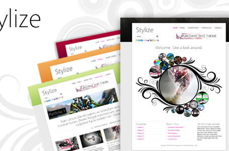 Stylize — Portfolio/Blog WordPress Theme