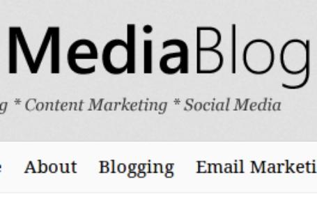 MediaBlog — вордпресс тема для профи блогера