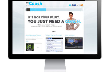 The Coach — бизнес WordPress тема для инструктора, тренера, репетитора