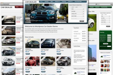 Car Dealer — премиум вордпресс тема для автодилера