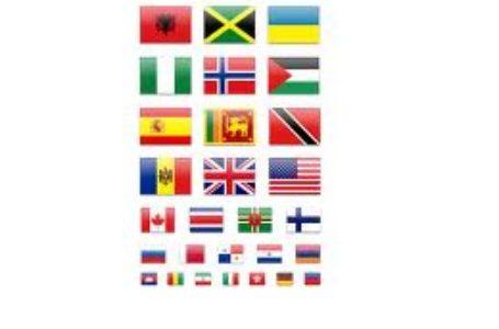 Скачай иконки флагов стран мира